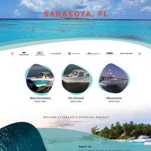 Sara Bay Website Design
